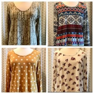 Lularoe Lynnae Top Bundle